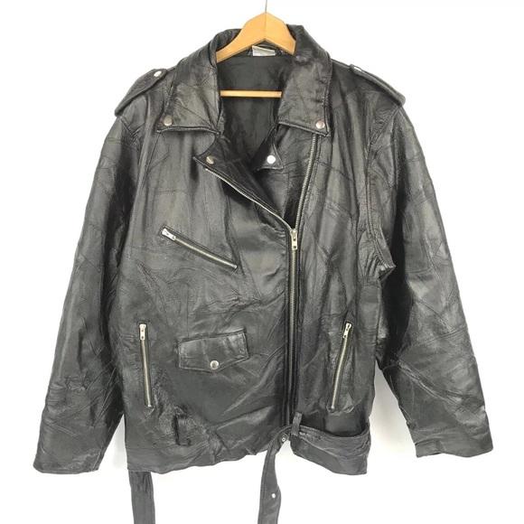 Flight Path Jackets Coats Genuine Leather Motorcycle Jacket Vtg